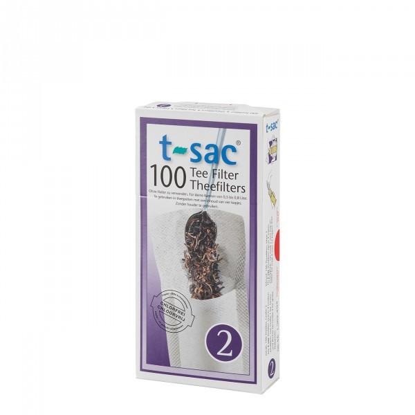 t-sac Gr. 2 100 Kannenfilter