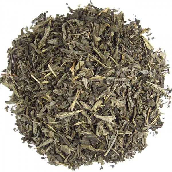 Grüner China Sencha entkoffeiniert